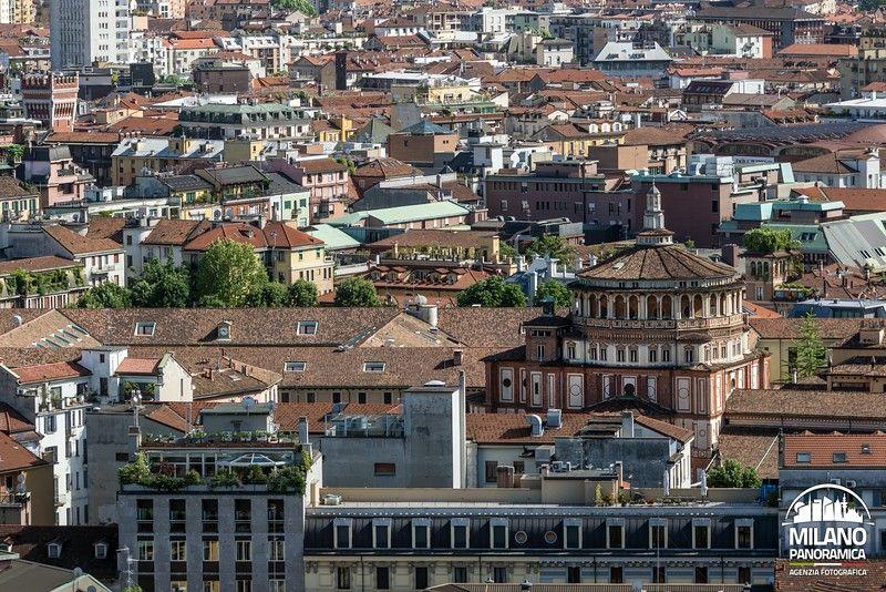 La basilica di Santa Maria delle Grazie (credits Milano Panoramica)