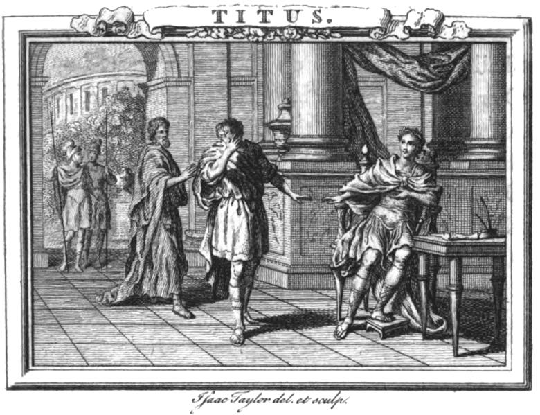 Illustrazione di un'edizione londinese della Clemenza di Tito di Metastasio, 1767 [Public domain, via Wikimedia Commons]