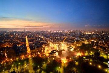 Milano by night - Corso Sempione (credits Milano Panoramica)