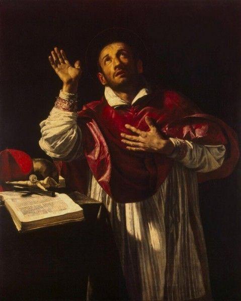 San Carlo Borromeo (Orazio Borgianni [Public domain], via Wikimedia Commons)