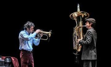 Paolo Fresu e Oren Marshall (credits Roberto Ifarelli via Blue Note Milano)