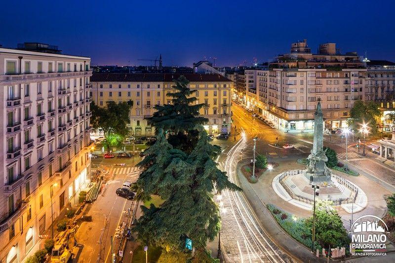 Piazza Cinque Giornate (credits Milano Panoramica)