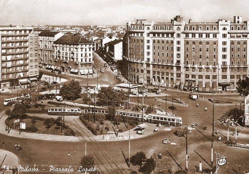 Piazzale Loreto, 1950 circa (credits Milano Sparita e da Ricordare)