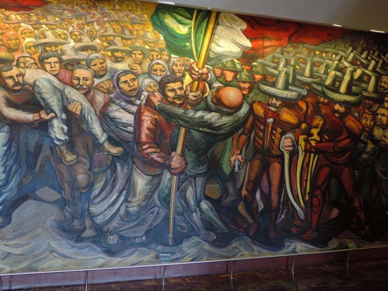 Siqueiros, Del porfirismo a la Revolución, Flickr