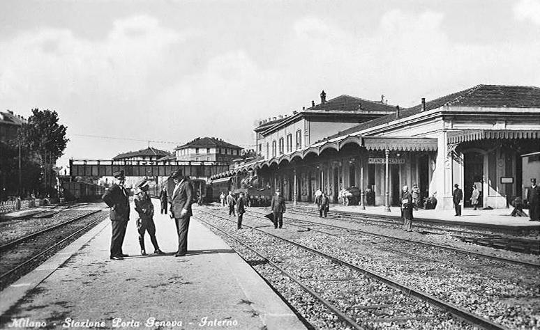 Stazione di Porta Genova (credits Milano Sparita e da Ricordare)
