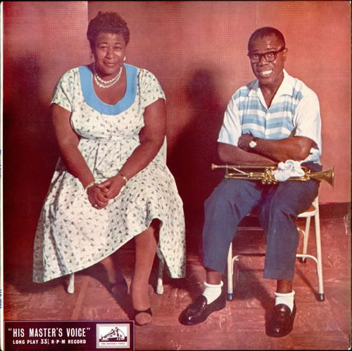 Ella and Louis - cover (1956)