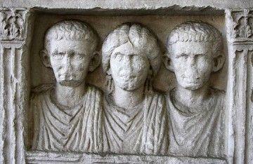 Milano romana - Lapide degli Asellii, sec. II d.C. (Museo Archeologico di Milano) - By Giovanni Dall'Orto. (Own work) [Attribution], via Wikimedia Commons
