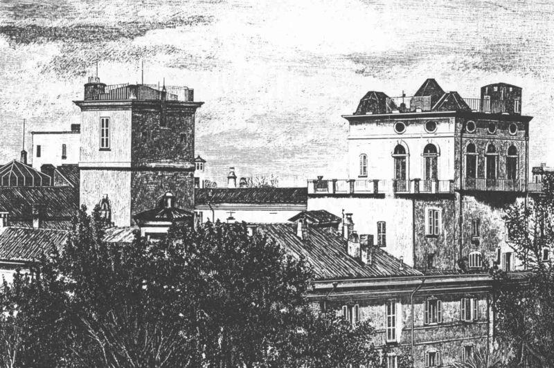 Osservatorio astronomico di Brera (Public domain, via Wikimedia Commons)