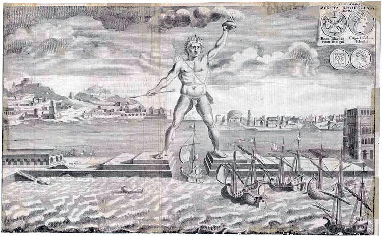 Colossus of Rhodes - [Public domain], attraverso Wikimedia Commons