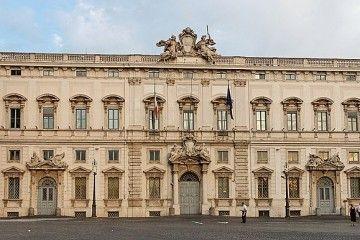 UNIONI CIVILI - Corte Costituzionale - Palazzo della Consulta, Roma - By Jastrow (Own work) [Public domain], via Wikimedia Commons