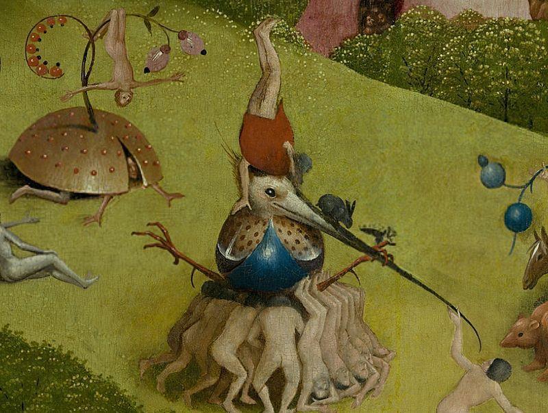 Hieronymus bosch e il bestiario della follia - Il giardino delle delizie bosch ...