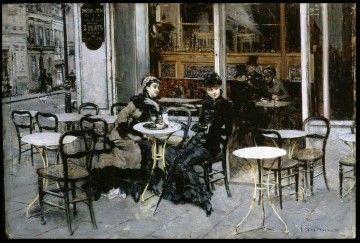 La Rinascente - Giovanni Boldini, Conversazione al caffè, 1879 ca. (public domain, via Wikimedia Commons)