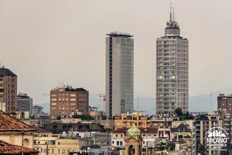 Le torri di piazza della Repubblica (credits Milano Panoramica)