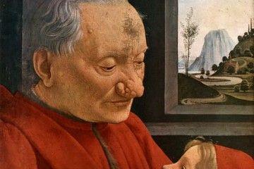 Nonni e nipoti - Domenico Ghirlandaio - Ritratto di vecchio con nipote - [Public domain], via Wikimedia Commons