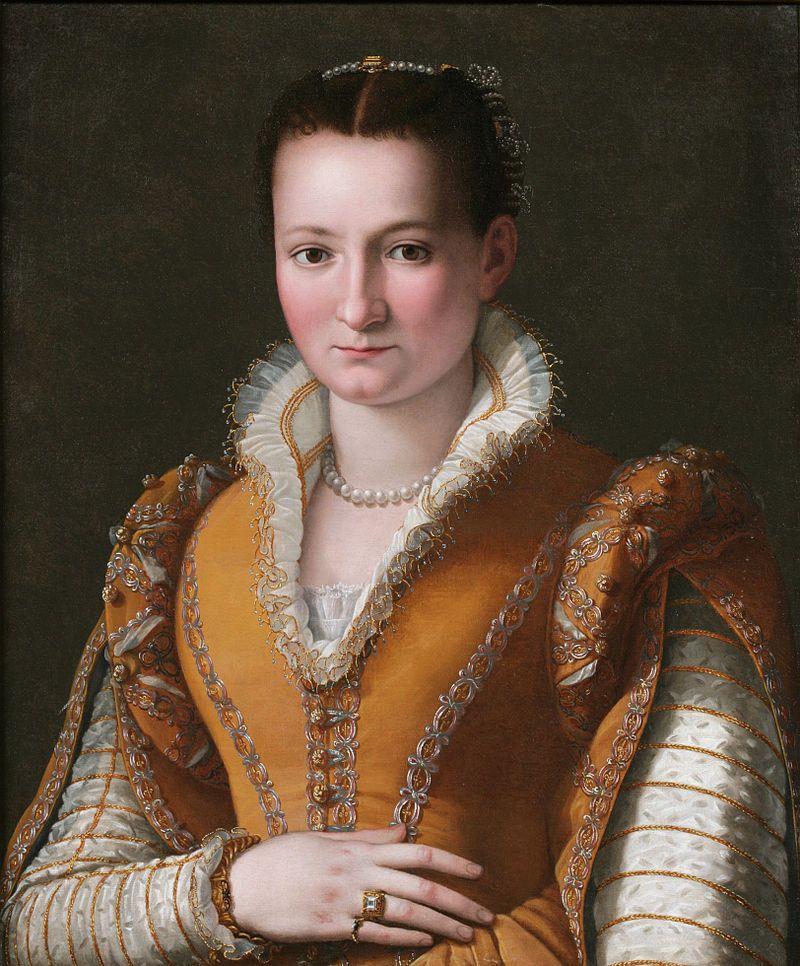 Possibile ritratto di Bianca de' Medici (Public domain, via Wikimedia Commons).