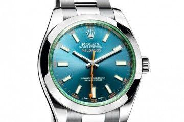 Rolex Oyster Perpetual Milgauss_quadrante verde_MilanoPlatinum