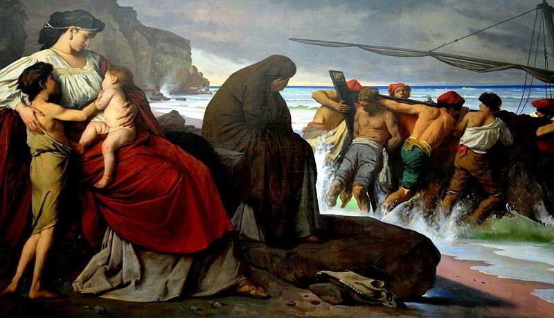 Anselm Feuerbach, Medea, 1870, Neue Pinakothek - Public Domain via Wikimedia Commons.