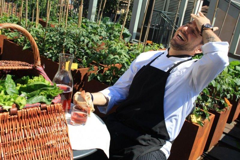 Lo chef Fabio Castiglioni