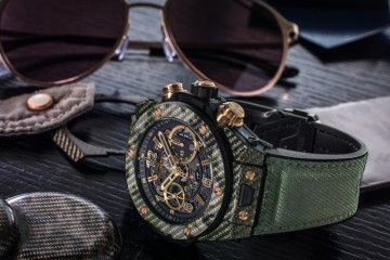 Hublot Big Bang Unico Italia Independent Peace lover_glasses green_MilanoPlatinum