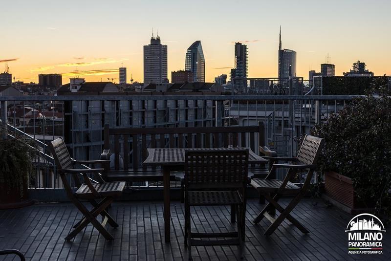 Dalla terrazza for Hotel galles milano