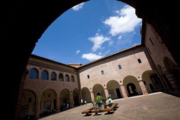 Museo della Carta di Fabriano - Chiostro orizzontale