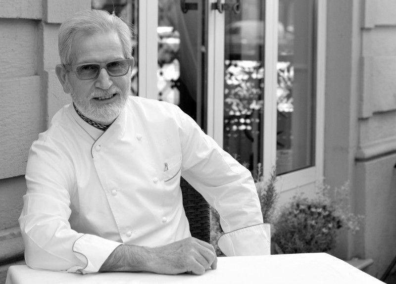 Lo chef Sergio Mei