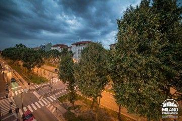 Strade milanesi - Viale Zara dall'alto (credits Milano Panoramica)