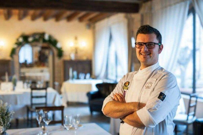 Lo chef Claudio Cesena