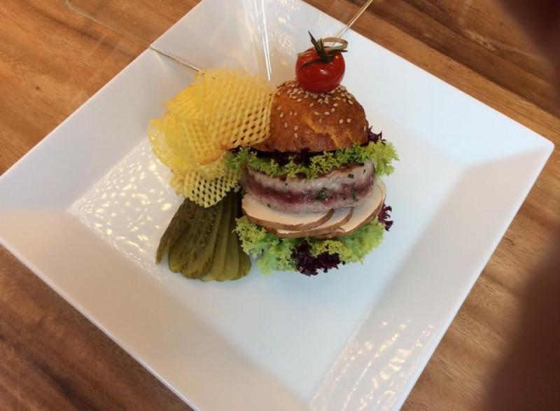 ricetta dello chef hamburger di tonno