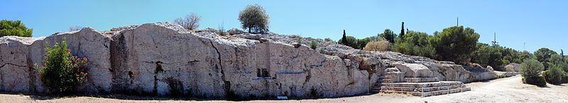 Athens - Panorama - Di Nikthestoned (Opera propria - larger version at Flickr) [CC BY-SA 3.0], attraverso Wikimedia Commons