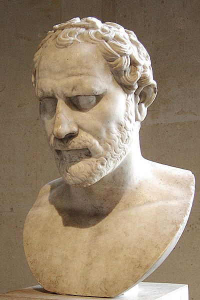 Demosthenes orator - Louvre - Sting [CC BY-SA 2.5], attraverso Wikimedia Commons