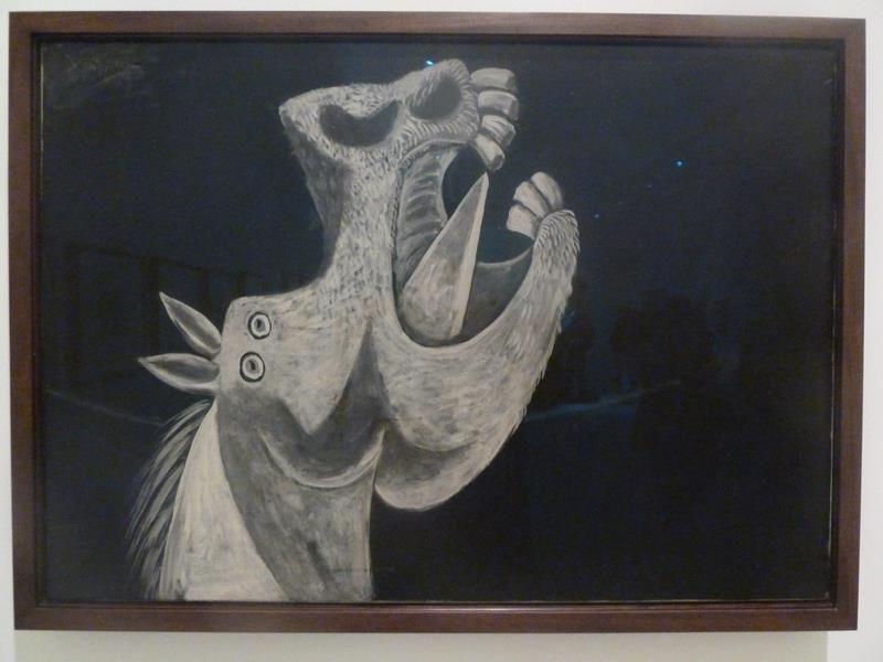 Pablo Picasso, La Testa di Cavallo. Schizzo per Guernica, 1937 - Flickr CC BY-SA 2.0