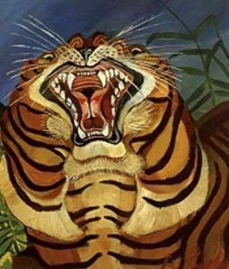 Antonio Ligabue, Testa di tigre, 1955-56 - Pinterest