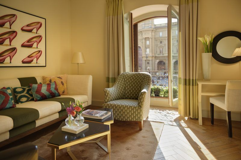 Hotel Savoy Florence-SUITE ExecutiveSuite_livingroom with view