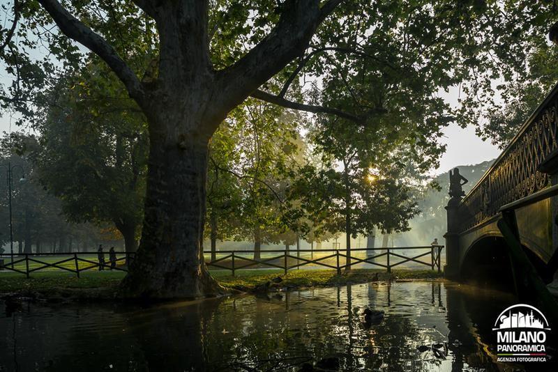 Il ponte delle sirenette nel Parco Sempione