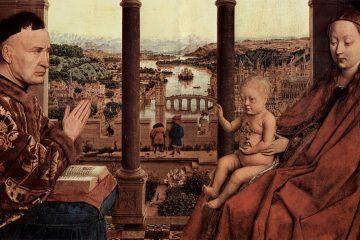 Jan van Eyck, Madonna del cancelliere Rolin