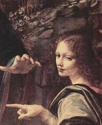 Vergine delle rocce - Particolare 2