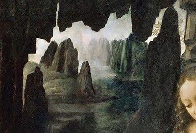 Vergine delle rocce - Particolare
