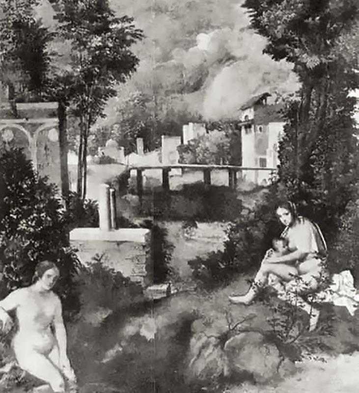 Ricostruzione della Tempesta di Antonio Morassi, 1939 – Pinterest