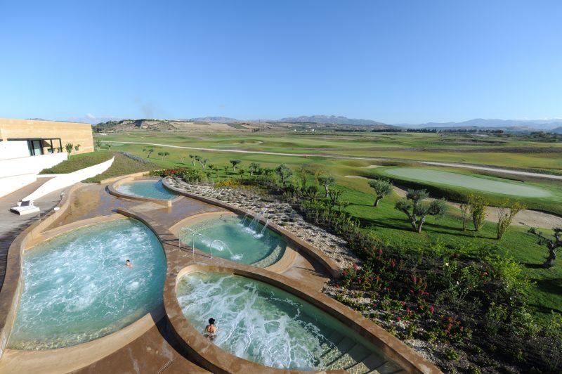 Verdura Resort- Verdura Spa Thalassotherapy Pools AH Sep 2010