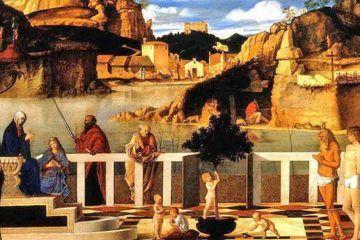 Giovanni Bellini - Allegoria sacra