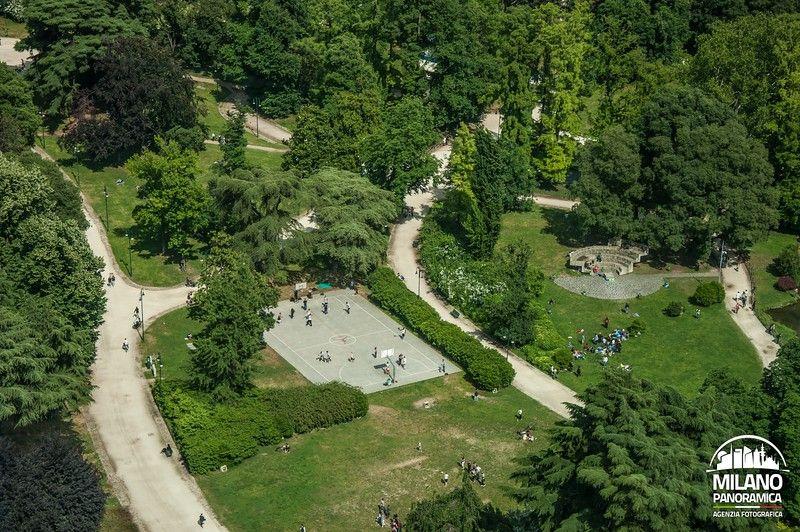 I campetti di Parco Sempione