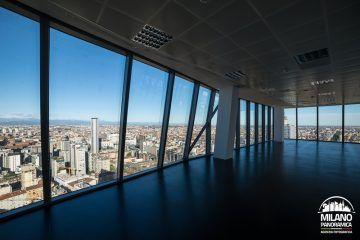 Il Centro Direzionale dalla Torre Diamante