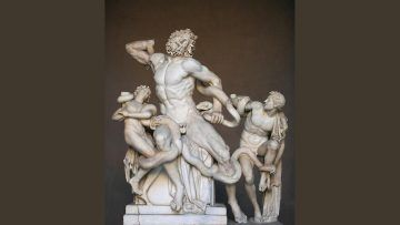 Laocoonte - By English - Agésandros, Athanadoros et Polydore (Jean-Pol GRANDMONT) [CC BY-SA 3.0 or GFDL], via Wikimedia Commons-1