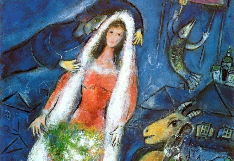 Marc Chagall, La Mariée -
