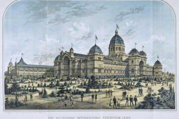 Expo 1880 Melbourne By PD-old; PD-AUSTRALIA [Public domain], via Wikimedia Commons