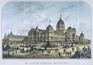 Expo 1880 Melbourne By PD-old; PD-AUSTRALIA [Public domain], via Wikimedia Commons