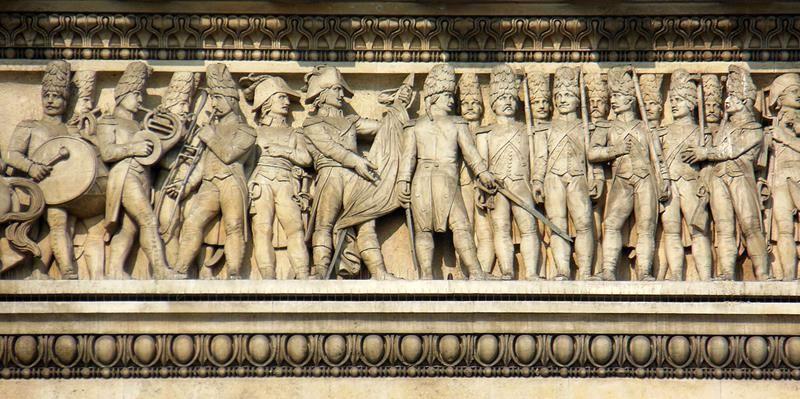Parigi Arco Trionfo - Di MM (Opera propria) [CC BY-SA 3.0], attraverso Wikimedia Commons