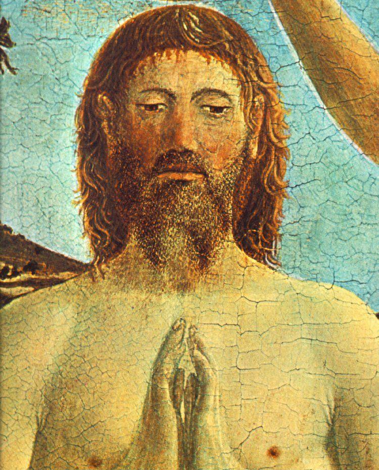 Il Battesimo di Cristo - Particolare - 1