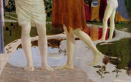 Il Battesimo di Cristo - Particolare - 3